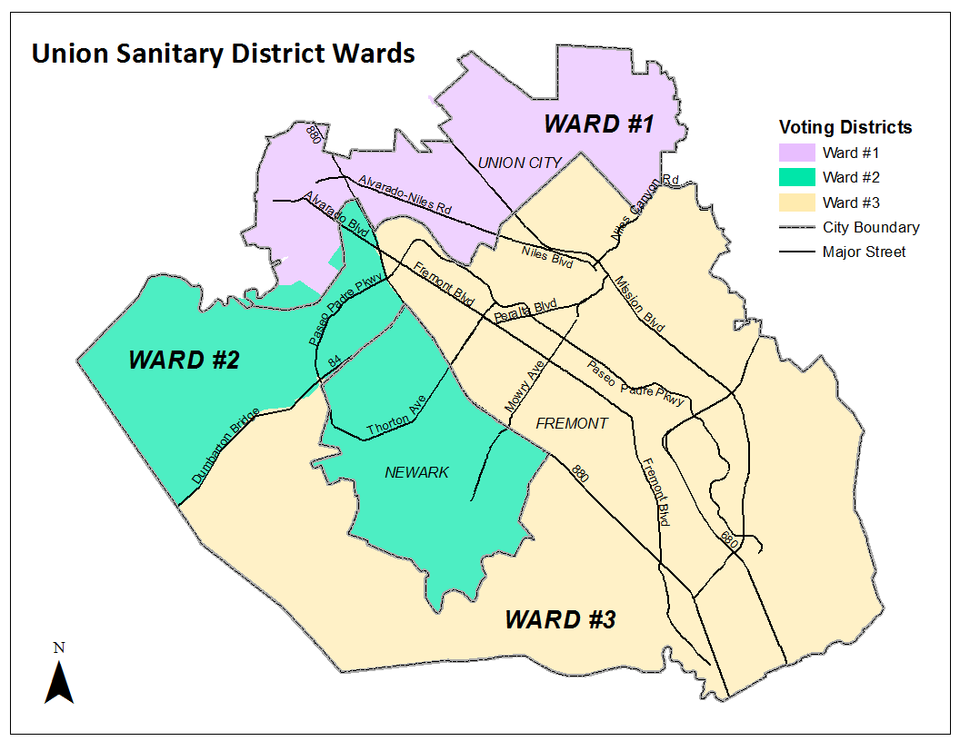 Voting Wards Map
